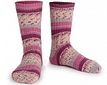 Contenido de fibra 75% Superwash Wool, 25% Poliamida, Pink, Maroon, Brand Ice Yarns, Grey, Cream, Yarn Thickness 1 SuperFine  Sock, Fingering, Baby, fnt2-55540