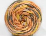 Fiber Content 100% Wool, Yellow, White, Light Orange, Brand ICE, Grey, Yarn Thickness 6 SuperBulky  Bulky, Roving, fnt2-55555