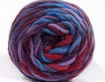 Состав пряжи 100% Шерсть, Purple, Lilac, Brand Ice Yarns, Burgundy, Blue, Yarn Thickness 6 SuperBulky  Bulky, Roving, fnt2-55560