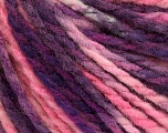 Fiber Content 50% Wool, 50% Acrylic, Pink Shades, Maroon, Brand ICE, fnt2-55596