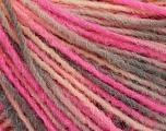 Fiber Content 100% Acrylic, Pink, Light Salmon, Brand Ice Yarns, Grey, fnt2-55611