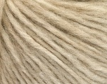 Fiber indhold 27% Akryl, 23% Nylon, 23% Uld, 15% Alpaca Superfine, 12% Viskose, Brand Ice Yarns, Beige, fnt2-55618