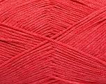 Fiber Content 100% Cotton, Salmon, Brand ICE, Yarn Thickness 2 Fine  Sport, Baby, fnt2-55651