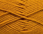 Bulky  Fiber Content 100% Acrylic, Brand Ice Yarns, Gold, Yarn Thickness 5 Bulky  Chunky, Craft, Rug, fnt2-55653