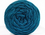 Fiber Content 100% Wool, Teal, Brand Ice Yarns, fnt2-55656