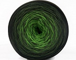 Fiber Content 50% Acrylic, 50% Cotton, Brand ICE, Green Shades, Black, Yarn Thickness 2 Fine  Sport, Baby, fnt2-55668