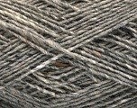 Fiber Content 70% Wool, 5% Acrylic, 25% Polyamide, Light Grey, Brand Ice Yarns, fnt2-55709