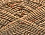 Fiber Content 70% Wool, 5% Acrylic, 25% Polyamide, Light Camel, Brand Ice Yarns, fnt2-55712