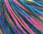 Fiber Content 70% Wool, 30% Polyamide, Pink, Brand Ice Yarns, Green Shades, Blue Shades, fnt2-55749