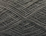 Fiber Content 50% Wool, 50% Acrylic, Brand Ice Yarns, Grey Shades, fnt2-55758