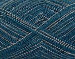 Fiberinnhold 50% Ull, 50% Akryl, Brand Ice Yarns, Grey, Blue, fnt2-55761