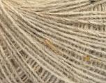 Fiberinnehåll 50% Ull, 40% Akryl, 10% Viskos, Brand Ice Yarns, Beige, fnt2-55818