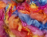 Fiber Content 100% Polyamide, Yellow, Pink, Orange, Brand Ice Yarns, Blue, fnt2-55823