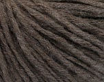 Fiber Content 55% Acrylic, 20% Viscose, 15% Alpaca, 10% Wool, Brand Ice Yarns, Brown, fnt2-55827