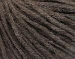 Fiberinnhold 55% Akryl, 20% viskose, 15% Alpakka, 10% Ull, Brand Ice Yarns, Brown, fnt2-55827