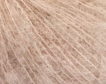Fiberinnhold 40% Alpaca Superfine, 40% Ull, 20% polyamid, Light Pink, Brand Ice Yarns, fnt2-55867