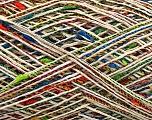 Fiber Content 44% Polyamide, 28% Acrylic, 28% Cotton, Rainbow, Brand Ice Yarns, Cream, fnt2-55870