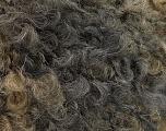 Fiberinnhold 45% Akryl, 25% Ull, 20% Mohair, 10% polyamid, Brand Ice Yarns, Grey Shades, Brown Shades, fnt2-55873