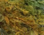 Fiberinnhold 45% Akryl, 25% Ull, 20% Mohair, 10% polyamid, Brand Ice Yarns, Green Shades, fnt2-55875