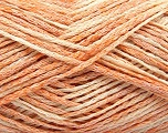 Conţinut de fibre 48% Bumbac, 32% Acrilic, 20% Poliamidă, Light Orange, Brand Ice Yarns, Cream, fnt2-55883