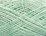 Fiber Content 100% Acrylic, Light Mint Green, Brand ICE, Yarn Thickness 2 Fine  Sport, Baby, fnt2-55890