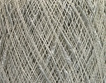 Fiber Content 50% Linen, 50% Viscose, Light Grey, Brand ICE, fnt2-55907