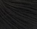 Fiber Content 50% Wool, 50% Acrylic, Brand Ice Yarns, Black, Yarn Thickness 4 Medium  Worsted, Afghan, Aran, fnt2-55914