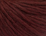 Fiber Content 50% Acrylic, 50% Wool, Brand ICE, Burgundy, Yarn Thickness 4 Medium  Worsted, Afghan, Aran, fnt2-55915
