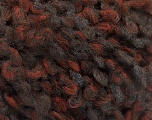 Fiber Content 55% Wool, 27% Acrylic, 18% Polyamide, Brand Ice Yarns, Brown Shades, Anthracite, fnt2-55938