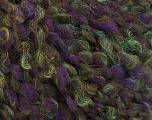 Fasergehalt 55% Wolle, 27% Acryl, 18% Polyamid, Purple, Brand Ice Yarns, Green, fnt2-55940