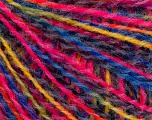 Fiber Content 50% Acrylic, 50% Wool, Yellow, Pink, Maroon, Brand ICE, Blue, fnt2-55992