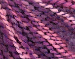 Fiber Content 82% Acrylic, 8% Polyamide, 10% Polyester, Pink, Lilac, Brand ICE, Yarn Thickness 4 Medium  Worsted, Afghan, Aran, fnt2-55997