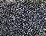 Fiber Content 44% Acrylic, 44% Cotton, 12% Polyamide, Silver, Brand ICE, Black, Yarn Thickness 2 Fine  Sport, Baby, fnt2-56005