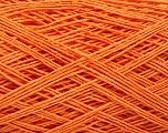 Linen Cotton Natural Yarn  Fiber Content 80% Cotton, 20% Linen, Orange, Brand Ice Yarns, fnt2-56023