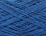 Linen Cotton Natural Yarn  Fiber Content 80% Cotton, 20% Linen, Brand Ice Yarns, Blue, fnt2-56024