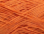 Linen Cotton Natural Yarn  Fiber Content 80% Cotton, 20% Linen, Light Orange, Brand ICE, fnt2-56025