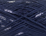 Natural Yarn  Fiber Content 100% Viscose, Navy, Brand ICE, fnt2-56030