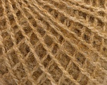 Fiber Content 58% Acrylic, 4% Elastan, 28% Mohair, 10% Virgin Wool, Brand Ice Yarns, Cafe Latte, fnt2-56063