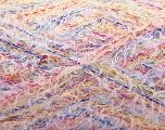 Fiber Content 90% Viscose, 10% Polyamide, Yellow, White, Pink, Orange, Brand Ice Yarns, Blue, Yarn Thickness 2 Fine  Sport, Baby, fnt2-56083