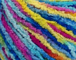Fiber Content 100% Polyamide, Yellow, Turquoise, Pink, Brand Ice Yarns, Blue, Yarn Thickness 3 Light  DK, Light, Worsted, fnt2-56115