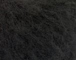 Fiber Content 27% Wool, 27% Mohair, 26% Polyamide, 20% Acrylic, Brand ICE, Black, fnt2-56146