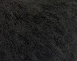Fiber Content 27% Mohair, 27% Wool, 26% Polyamide, 20% Acrylic, Brand ICE, Black, fnt2-56146