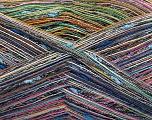 Fiber Content 80% Cotton, 20% Polyamide, Rainbow, Brand Ice Yarns, fnt2-56153