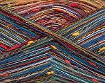 Fiber Content 80% Cotton, 20% Polyamide, Rainbow, Brand Ice Yarns, fnt2-56154