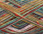 Fiber Content 80% Cotton, 20% Polyamide, Rainbow, Brand ICE, fnt2-56155
