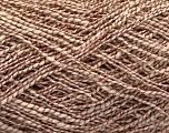 Fiber Content 62% Cotton, 23% Viscose, 15% Polyamide, Rose Brown, Brand ICE, Cream, Yarn Thickness 2 Fine  Sport, Baby, fnt2-56159
