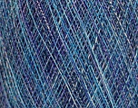 Fiber Content 50% Cotton, 50% Polyamide, Turquoise, Brand ICE, Blue Shades, fnt2-56171