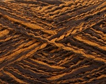 Fiber Content 44% Wool, 44% Acrylic, 12% Polyamide, Brand Ice Yarns, Copper, Brown, Yarn Thickness 2 Fine  Sport, Baby, fnt2-56190