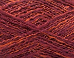 Fiber Content 44% Wool, 44% Acrylic, 12% Polyamide, Maroon, Brand Ice Yarns, Copper, Yarn Thickness 2 Fine  Sport, Baby, fnt2-56198