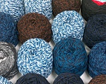 Custom Blends Please note that skein weight information given for this lot is average. Brand Ice Yarns, fnt2-56239